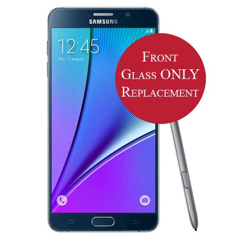 Galaxy Note 5 Front Glass Only Replacement