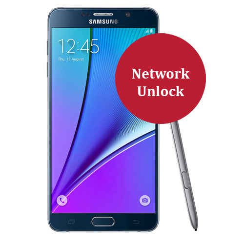 Samsung Galaxy Note 5 Network Unlock